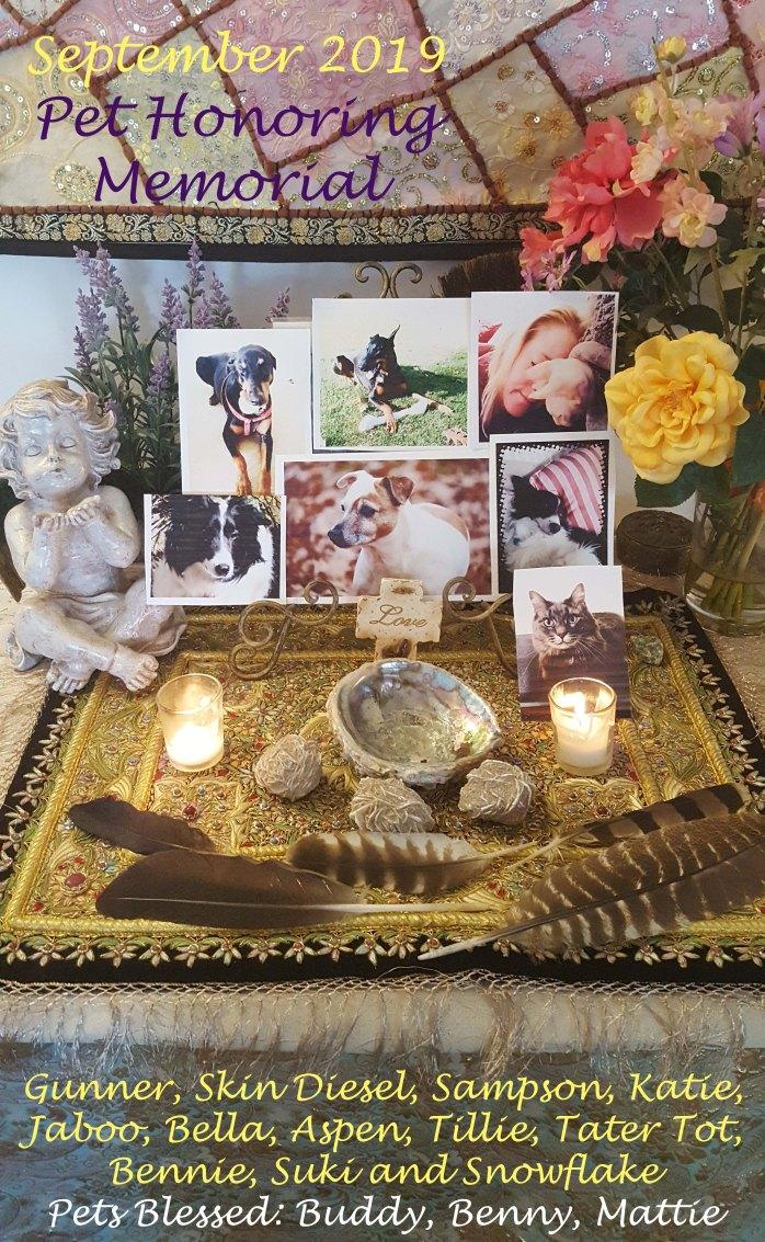 September Pet Honoring Memorial 2019 copy